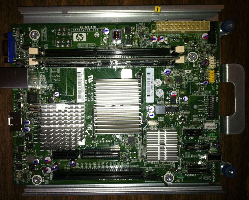 HP Proliant Microserver | Jeff's Blog